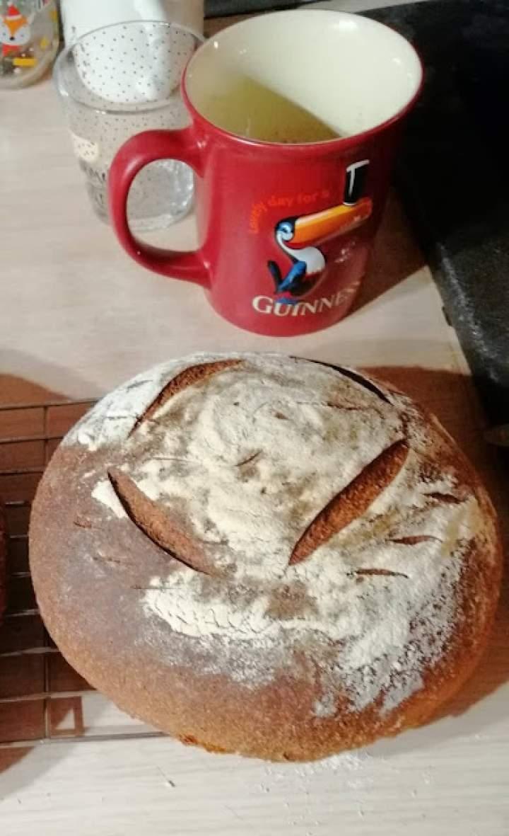 Chleb Miche z mąki mieszanej