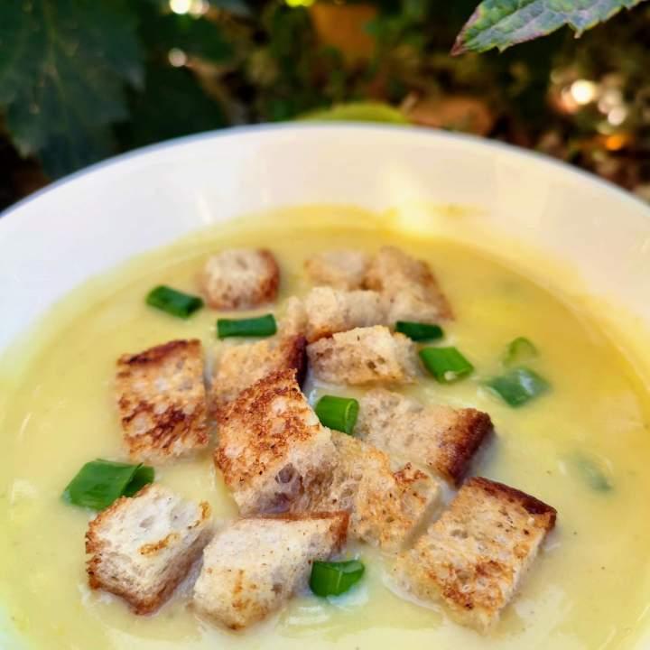 Najprostsza zupa z cukinii