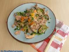 Żytnie pappardelle z tuńczykiem