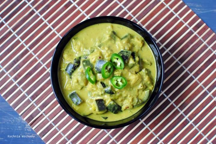 Malezyjskie, wegańskie curry z bakłażana