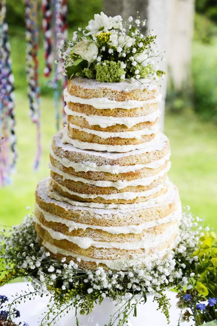 "16 boskich ""naked cake"""