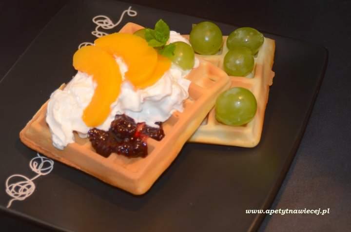 Gofry na wodzie gazowanej / Waffles for carbonated water