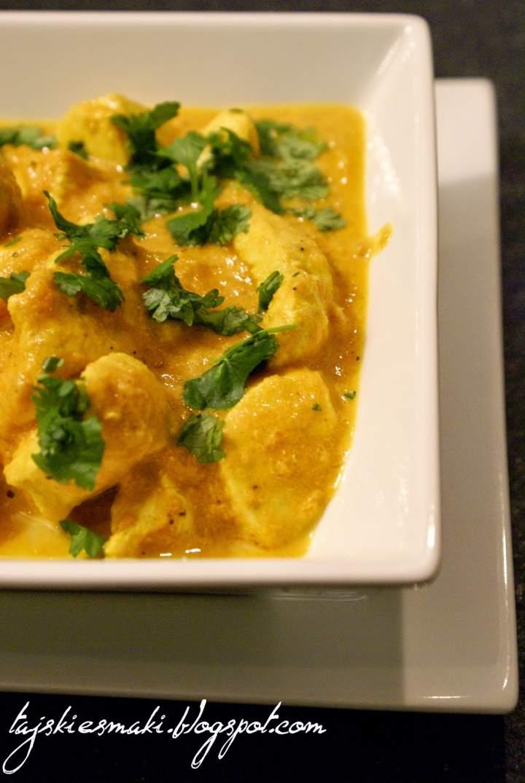 Smaki Indii: Kurczak maślany/ Taste of India: Butter chicken