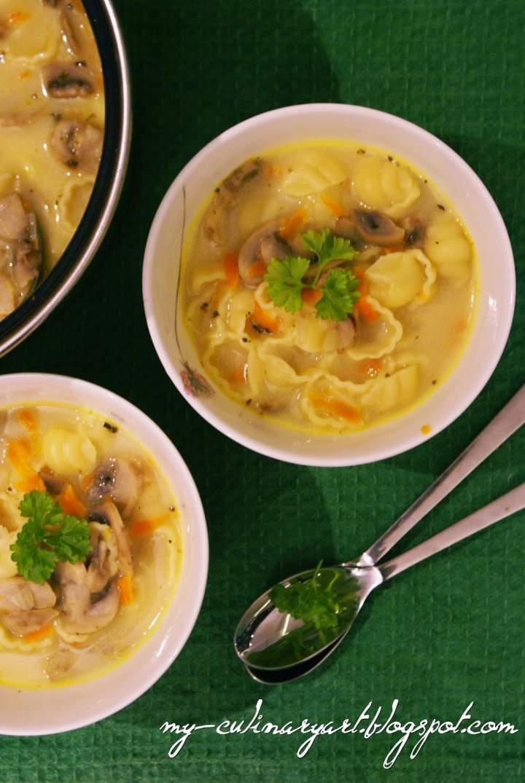Babcina zupa pieczarkowa