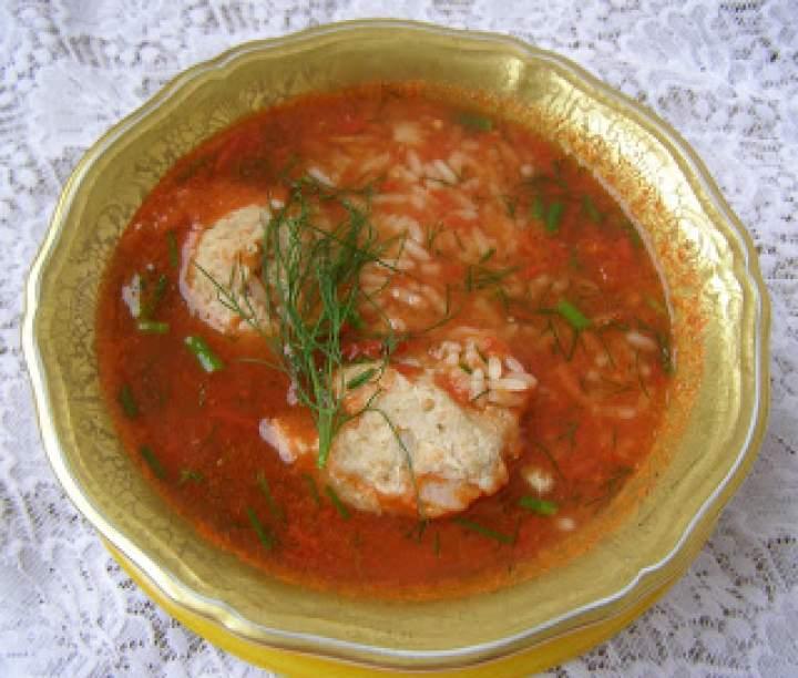 z suszonym koprem ze świeżych pomidorów klopsikowa zupa…