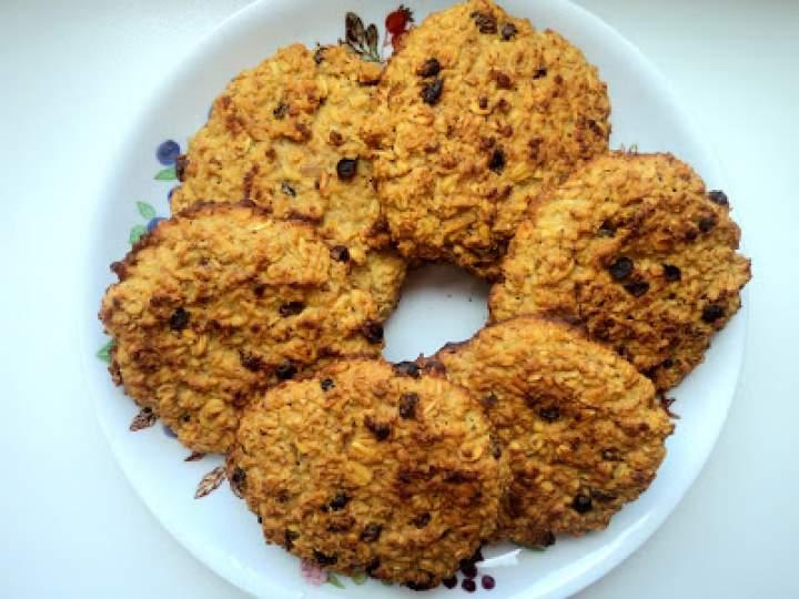 Ciasteczka owsiane z rokitnikiem – dietetyczne, zdrowie, fit :)