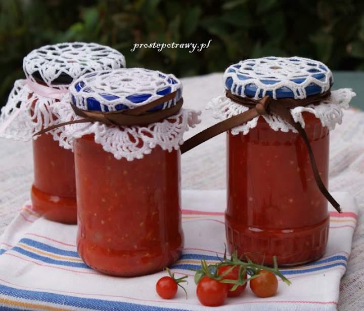 Marokański sos pomidorowy