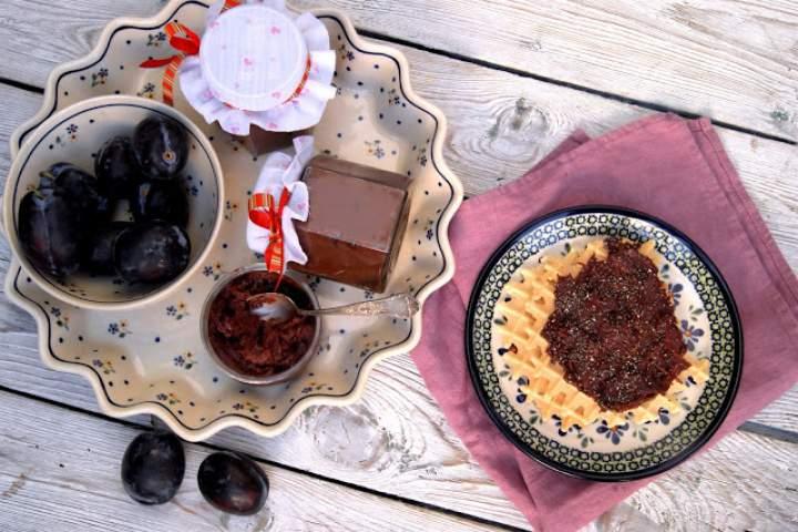 Powidła śliwkowe z czekoladą do świątecznego piernika i nie tylko