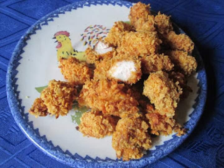 Nuggetsy z kurczaka light – pieczone w maślankowej marynacie