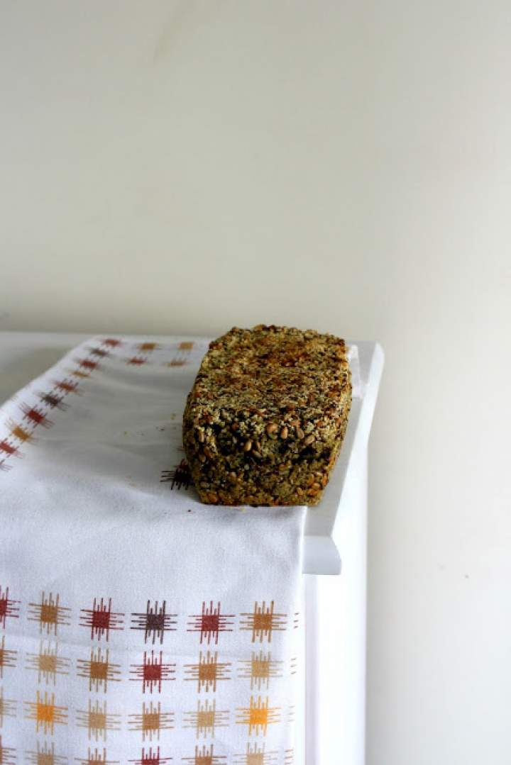 Chleb jaglany bez mąki
