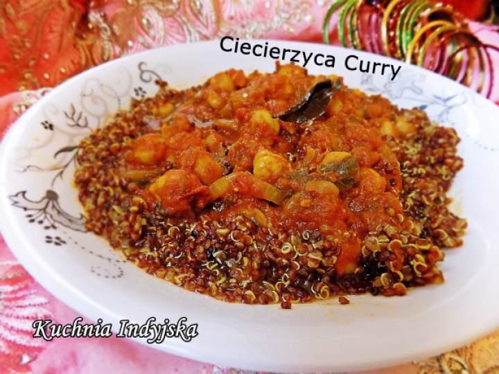 Chana Masala, czyli Ciecierzyca w Sosie Curry