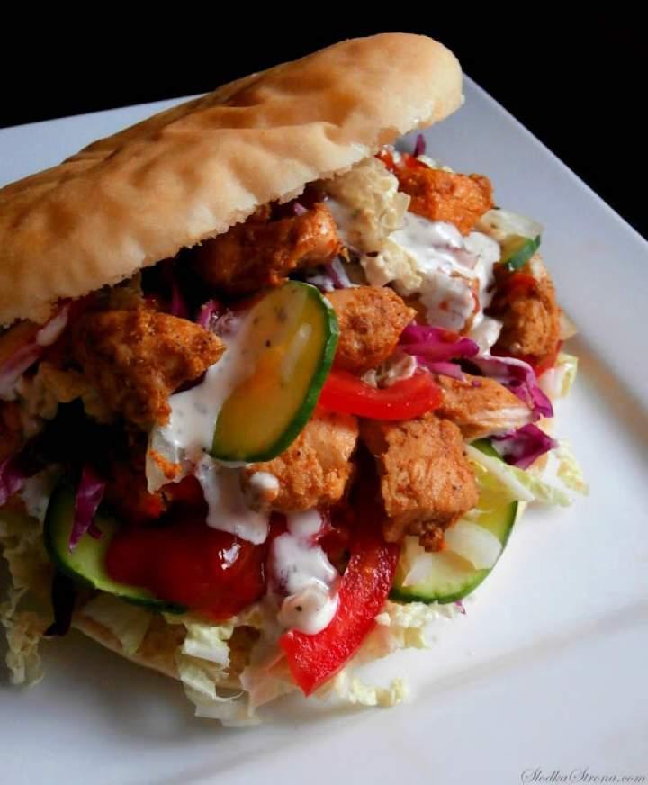 Domowy Kebab (Kebab z Kurczaka)