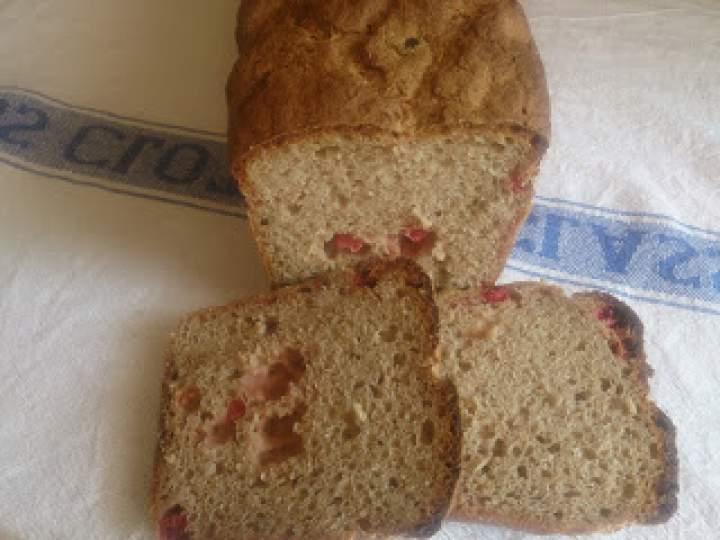 razowy chleb z borówką czerwoną