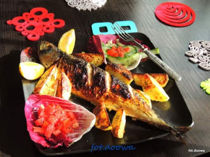 Makrele z grilla
