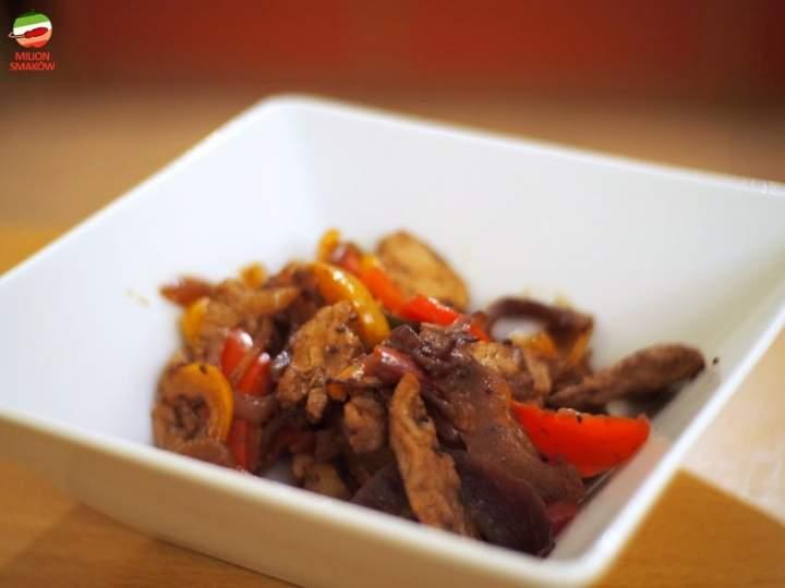 Wołowina z woka z sosem hoisin