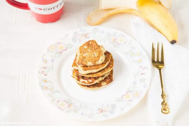 Dietetyczne placuszki bananowe (dwuskładnikowe)