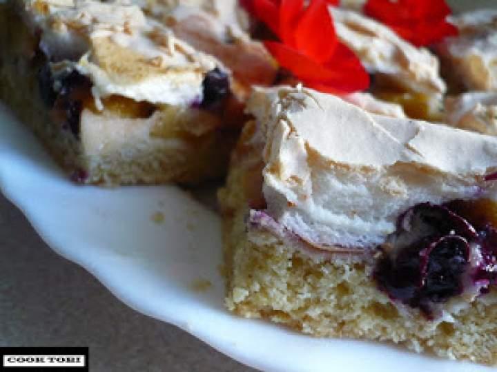 Ciasto kruche z pianką z TRIO owocowym