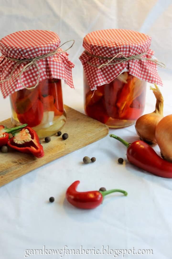 Papryczki chilli w zalewie
