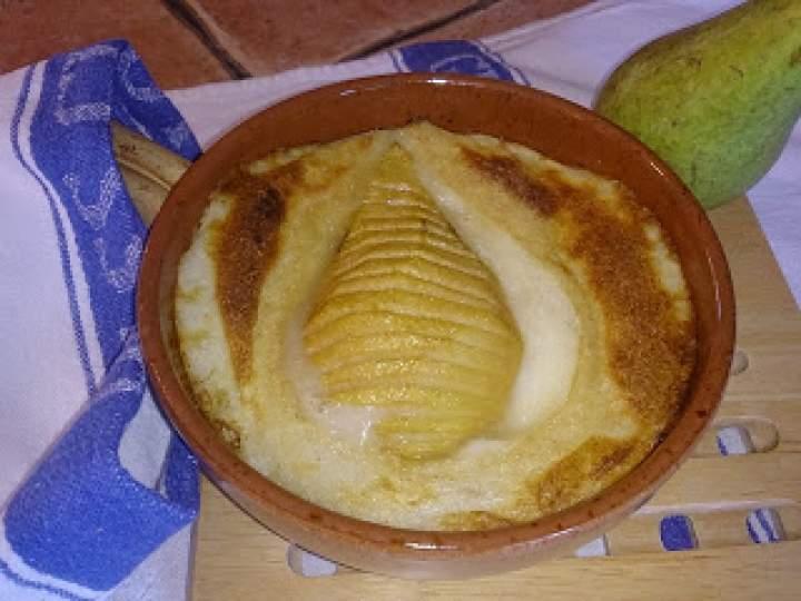 gruszki zapiekane z manną kaszą