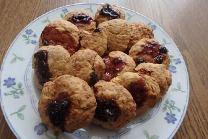 Ciasteczka marchewkowe z dżemem