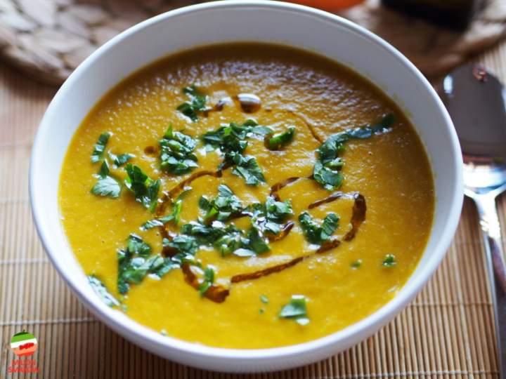 Zupa krem z marchwi i soczewicy