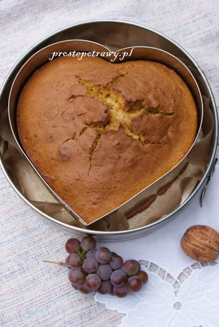 Ciasto dyniowe w kształcie serca