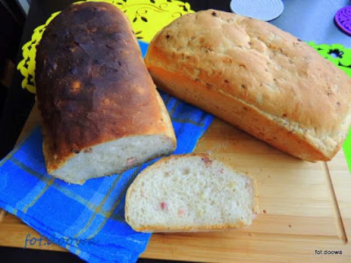 Chleb ze smalcem i skwarkami
