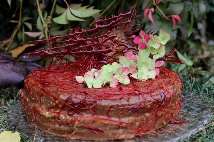 Tort Chałwowe-Karmelove