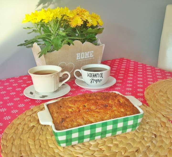 Ciasto cukiniowe z kokosem