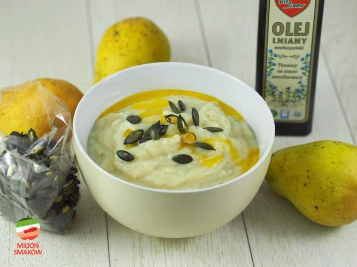Zupa z gruszki i z pietruszki