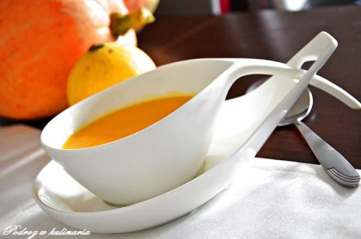 ,,Zupa krem z dyni''