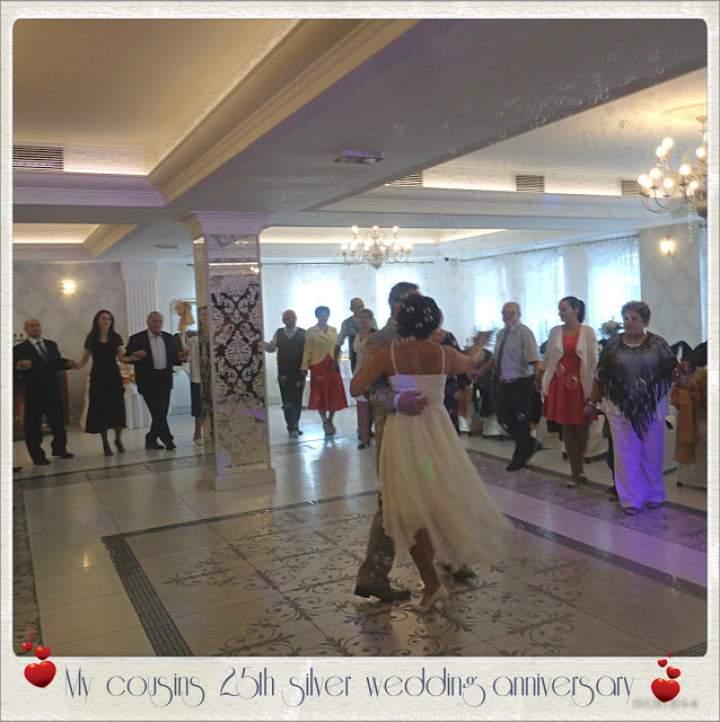 Rośniemy w różnych kierunkach a korzenie mamy wspólne – My cousins 25th silver wedding anniversary