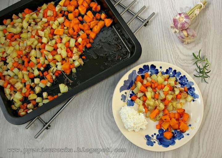 Pieczone warzywa z ziołami – pyszne