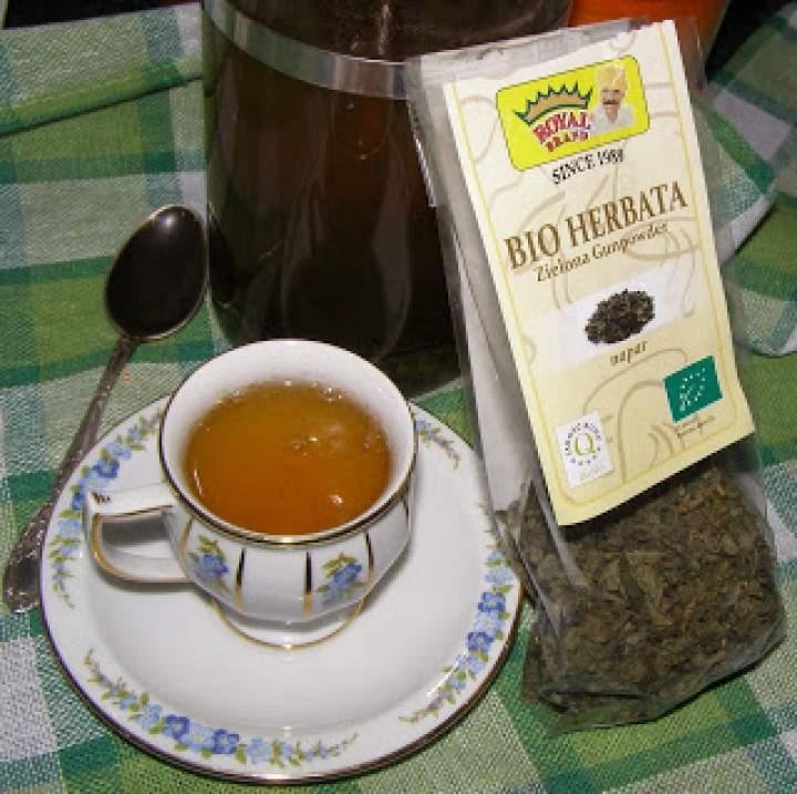 bio herbata zielona gunpowder…