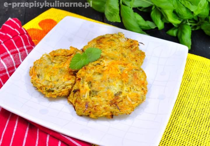 Lekkie, warzywne placuszki (70 kcal)