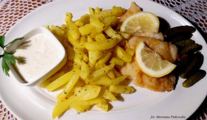Jednopalnikowe fish & chips