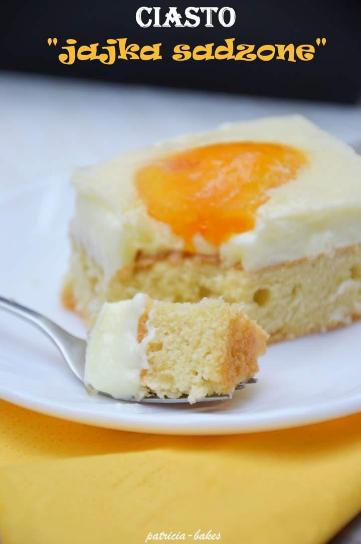 """Ciasto """"jajka sadzone"""""""