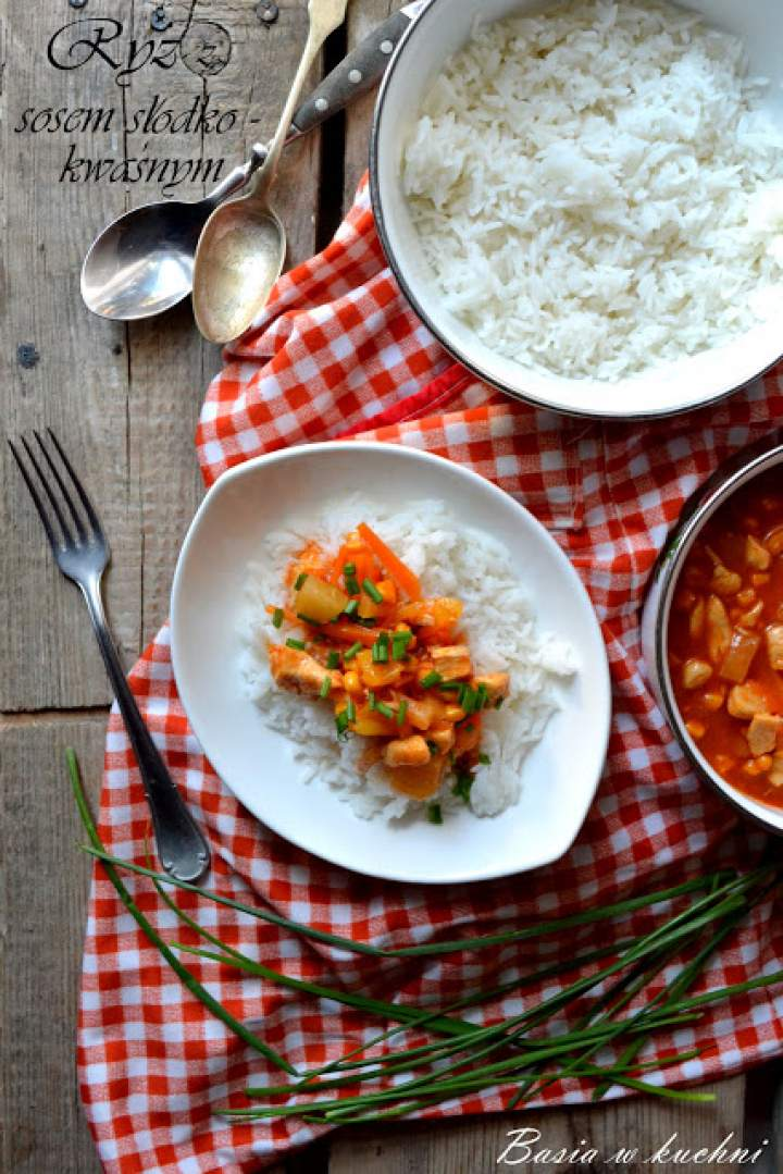 Kurczak w sosie słodko – kwaśnym -przepis