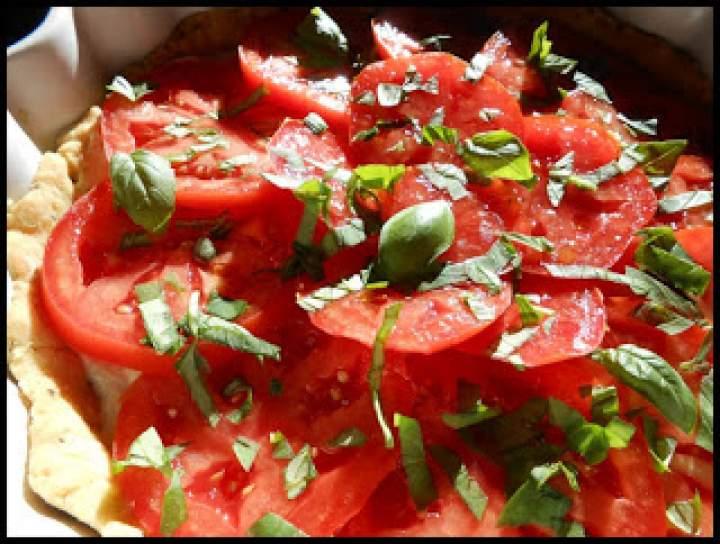 Prowansalska tarta pomidorowa