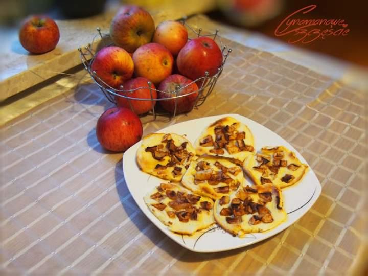 Fit serniczki cynamonowo jabłkowe