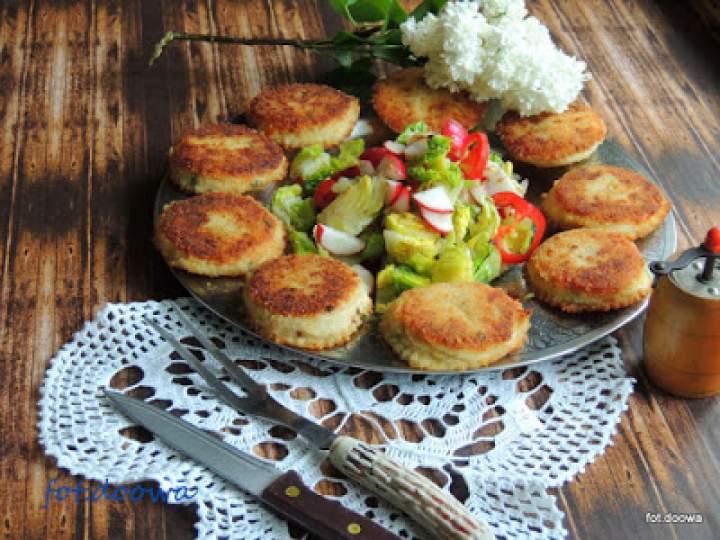 Placuszki pikantne z ziemniaków i sera