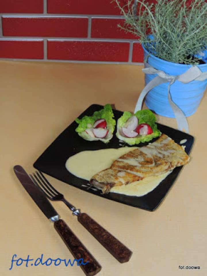 Pieczony marlin z sosem béarnaise