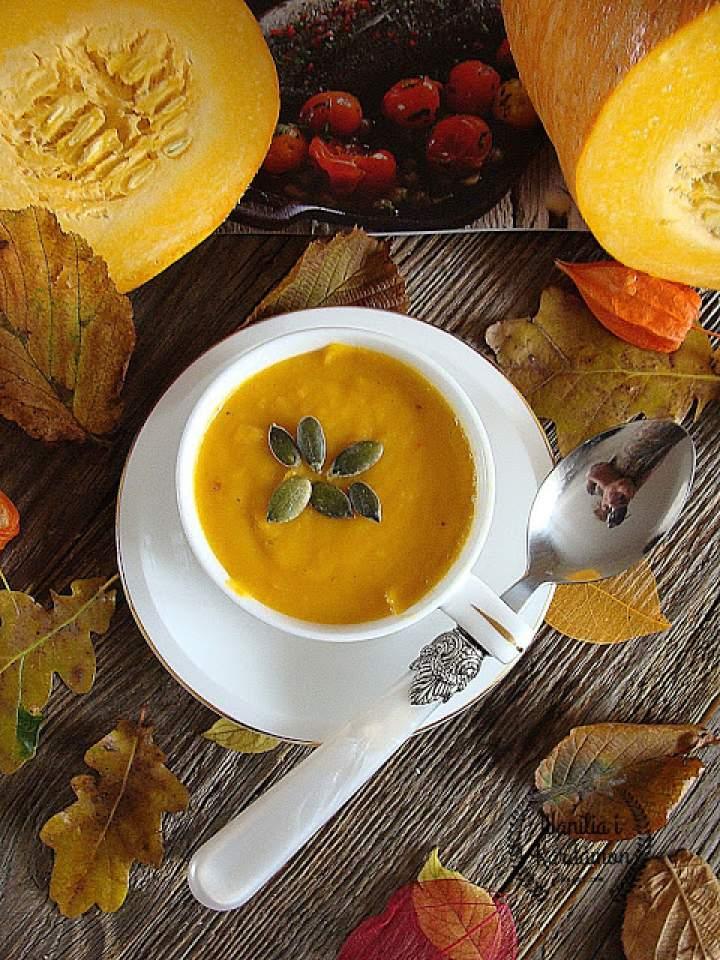 Zupa z dyni i chili