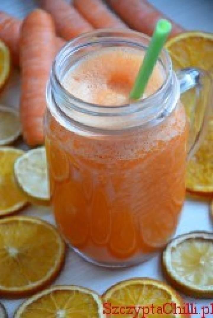 Sok marchewkowy z pomarańczą