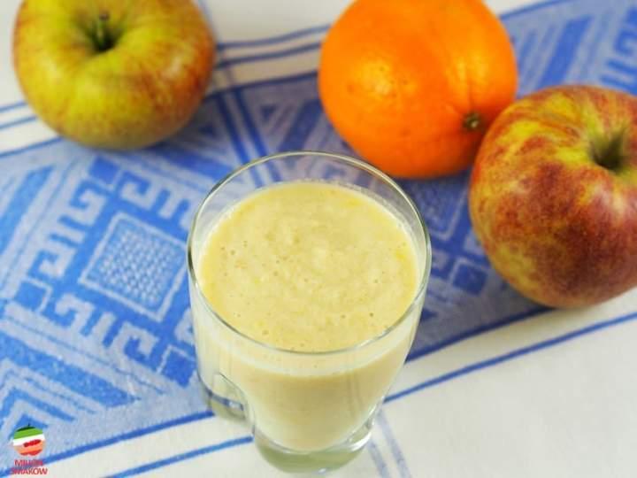 Smoothie pomarańczowo – jabłkowe
