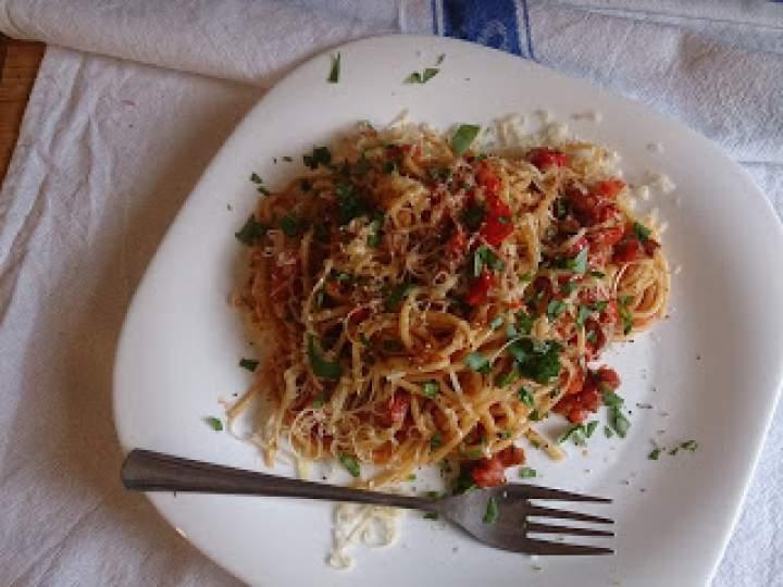 klasyka w kuchni czyli spaghetti bolognese