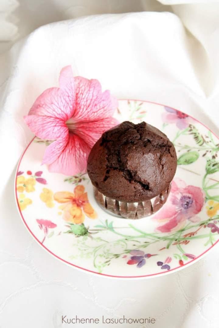 Muffinki bardzo czekoladowe