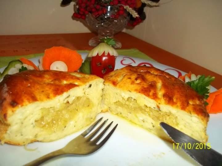 Maminkowe zapiekanki ziemniaczano-serowe z cebulką