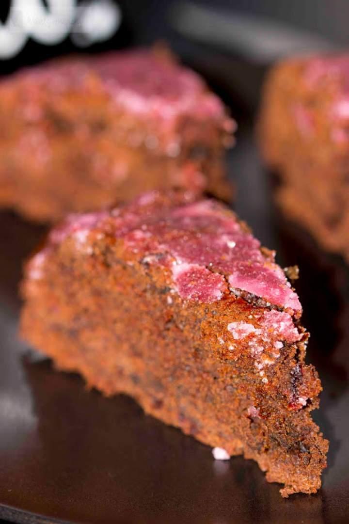 Żytnie ciasto czekoladowe z buraczkami