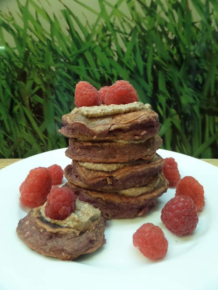 *196* Różowe pancakes!